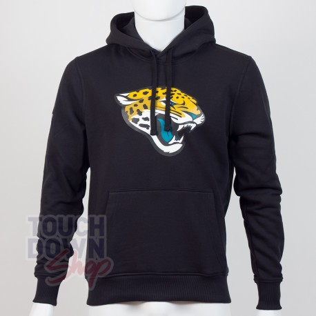Sweat à capuche New Era team logo NFL Jacksonville Jaguars - Touchdown Shop
