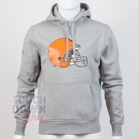 Sweat à capuche New Era team logo NFL Cleveland Browns