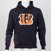 Sweat à capuche New Era team logo NFL Cincinnati Bengals - Touchdown Shop