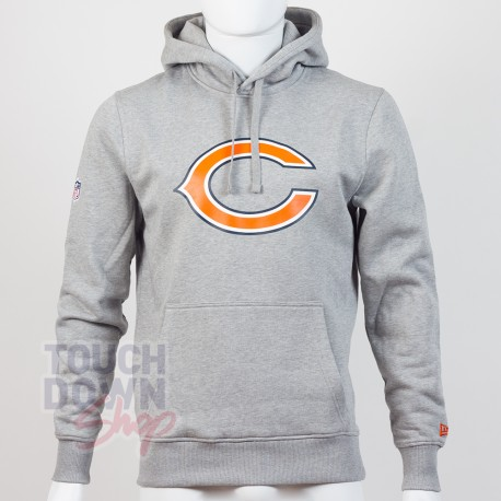 Sweat à capuche New Era team logo NFL Chicago Bears - Touchdown Shop