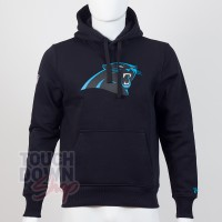 Sweat à capuche New Era team logo NFL Carolina Panthers