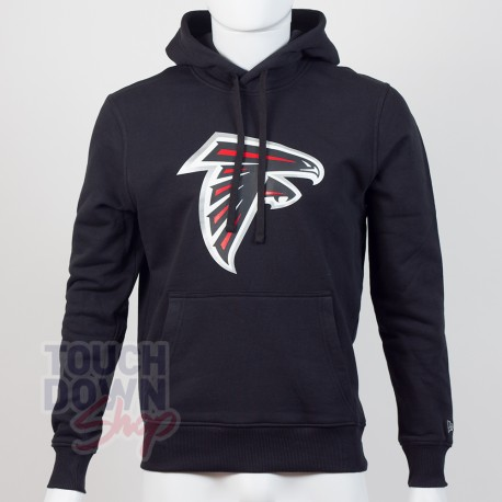 Sweat à capuche New Era team logo NFL Atlanta Falcons - Touchdown Shop