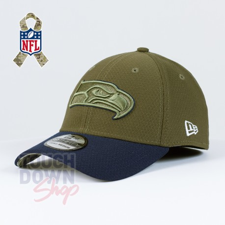 Casquette Seattle Seahawks NFL Salute To Service 39THIRTY New Era - Touchdown Shop
