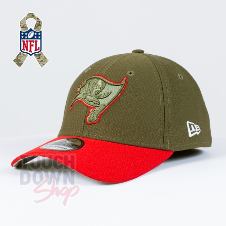 Casquette Tampa Bay Buccaneers NFL Salute To Service 39THIRTY New Era - Touchdown Shop