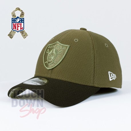 Casquette Oakland Raiders NFL Salute To Service 39THIRTY New Era - Touchdown Shop