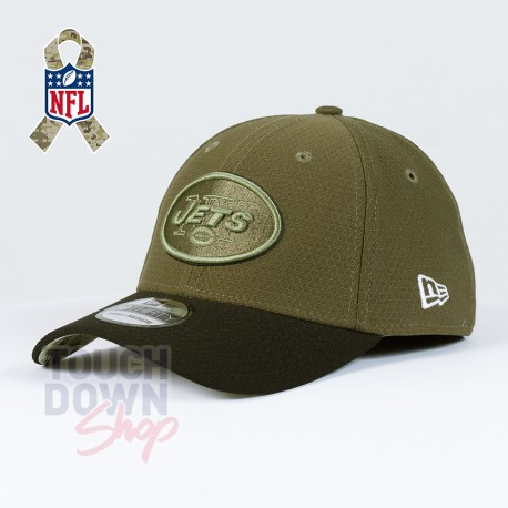 Casquette New York Jets NFL Salute To Service 39THIRTY New Era - Touchdown Shop