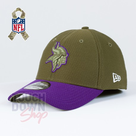 Casquette Minnesota Vikings NFL Salute To Service 39THIRTY New Era - Touchdown Shop