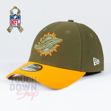 Casquette Miami Dolphins NFL Salute To Service 39THIRTY New Era - Touchdown Shop