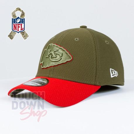 Casquette Kansas City Chiefs NFL Salute To Service 39THIRTY New Era - Touchdown Shop