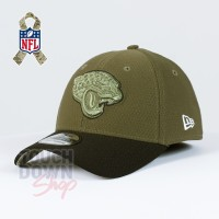 Casquette Jacksonville Jaguars NFL Salute To Service 39THIRTY New Era
