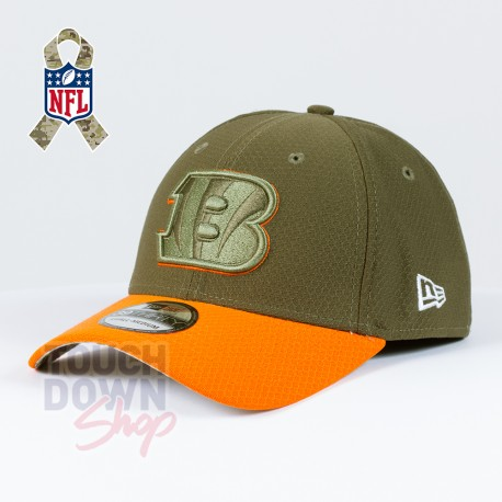 Casquette Cincinnati Bengals NFL Salute To Service 39THIRTY New Era - Touchdown Shop