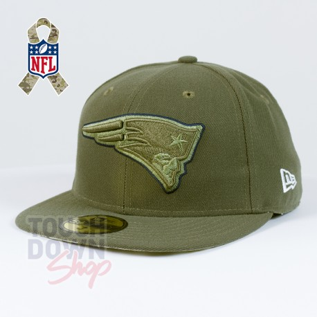 Casquette New England Patriots NFL Salute To Service 59FIFTY Fitted New Era - Touchdown Shop