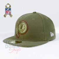 Casquette Washington Redskins NFL Salute To Service 59FIFTY Fitted New Era - Touchdown Shop