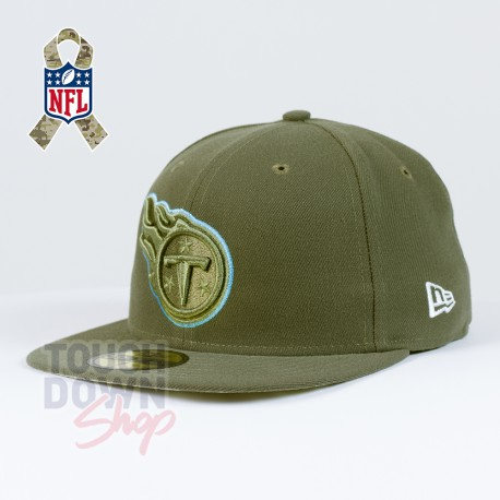 Casquette Tennessee Titans NFL Salute To Service 59FIFTY Fitted New Era - Touchdown Shop