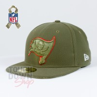 Casquette Tampa Bay Buccaneers NFL Salute To Service 59FIFTY Fitted New Era - Touchdown Shop