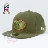 Casquette San Francisco 49ers NFL Salute To Service 59FIFTY Fitted New Era - Touchdown Shop
