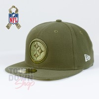 Casquette Pittsburgh Steelers NFL Salute To Service 59FIFTY Fitted New Era - Touchdown Shop