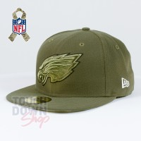 Casquette Philadelphia Eagles NFL Salute To Service 59FIFTY Fitted New Era - Touchdown Shop