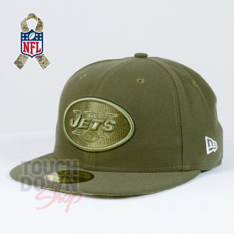Casquette New York Jets NFL Salute To Service 59FIFTY Fitted New Era - Touchdown Shop