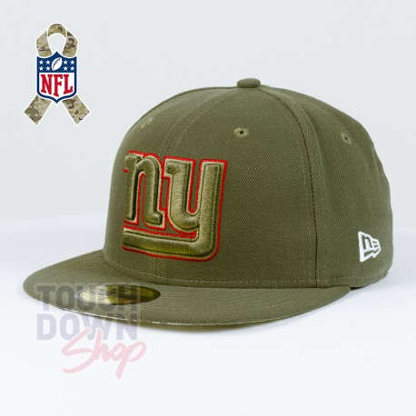 Casquette New York Giants NFL Salute To Service 59FIFTY Fitted New Era - Touchdown Shop