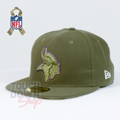 Casquette Minnesota Vikings NFL Salute To Service 59FIFTY Fitted New Era - Touchdown Shop