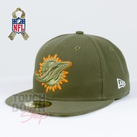 Casquette Miami Dolphins NFL Salute To Service 59FIFTY Fitted New Era - Touchdown Shop
