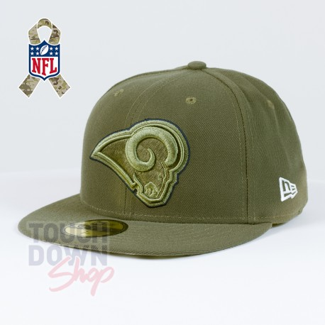 Casquette Los Angeles Rams NFL Salute To Service 59FIFTY Fitted New Era - Touchdown Shop
