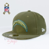 Casquette Los Angeles Chargers NFL Salute To Service 59FIFTY Fitted New Era - Touchdown Shop