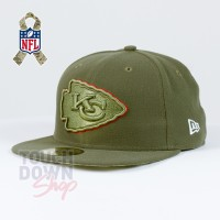 Casquette Kansas City Chiefs NFL Salute To Service 59FIFTY Fitted New Era