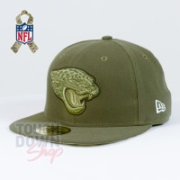 Casquette Jacksonville Jaguars NFL Salute To Service 59FIFTY Fitted New Era
