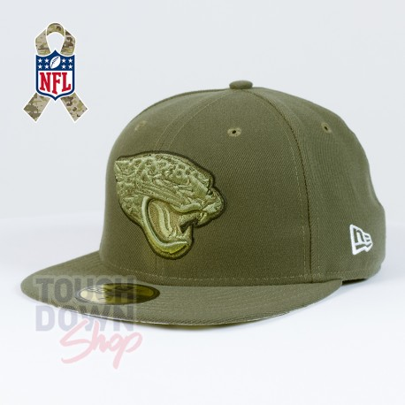 Casquette Jacksonville Jaguars NFL Salute To Service 59FIFTY Fitted New Era - Touchdown Shop