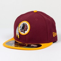 Casquette New Era 59FIFTY Fitted authentic on field NFL Washington Redskins - Touchdown shop