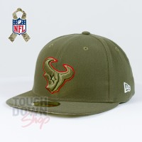 Casquette Houston Texans NFL Salute To Service 59FIFTY Fitted New Era
