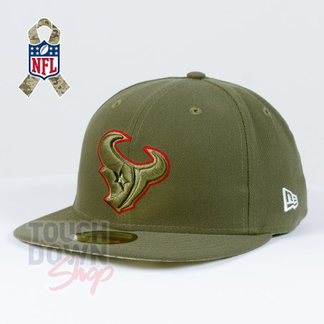 Casquette Houston Texans NFL Salute To Service 59FIFTY Fitted New Era - Touchdown Shop