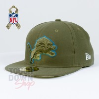 Casquette Detroit Lions NFL Salute To Service 59FIFTY Fitted New Era - Touchdown Shop