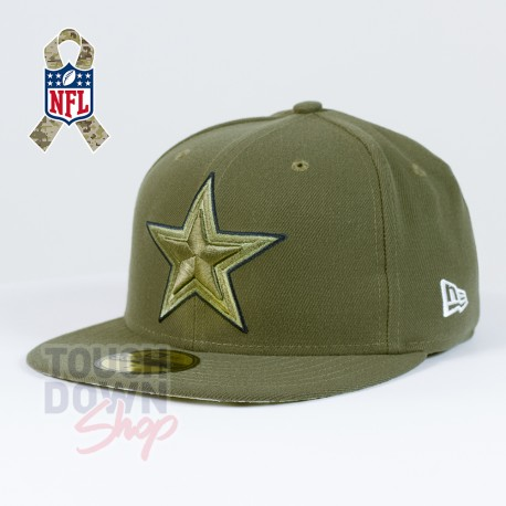 Casquette Dallas Cowboys NFL Salute To Service 59FIFTY Fitted New Era - Touchdown Shop