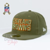 Casquette Cleveland Browns NFL Salute To Service 59FIFTY Fitted New Era - Touchdown Shop