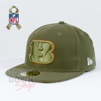 Casquette Cincinnati Bengals NFL Salute To Service 59FIFTY Fitted New Era - Touchdown Shop