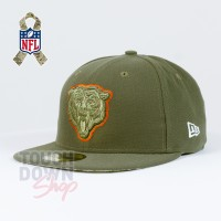 Casquette Chicago Bears NFL Salute To Service 59FIFTY Fitted New Era - Touchdown Shop