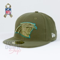 Casquette Carolina Panthers NFL Salute To Service 59FIFTY Fitted New Era - Touchdown Shop