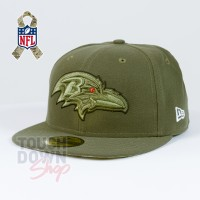 Casquette Baltimore Ravens NFL Salute To Service 59FIFTY Fitted New Era - Touchdown Shop