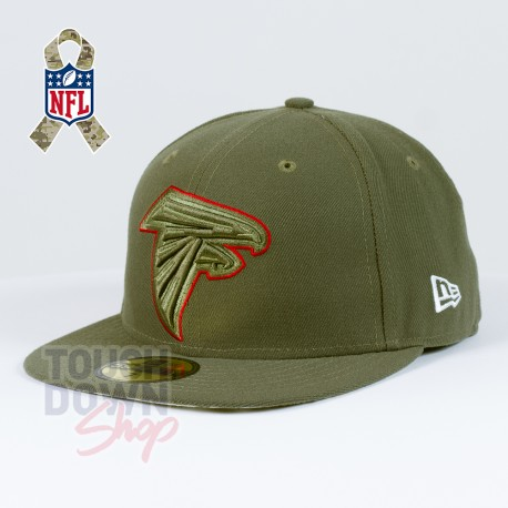Casquette Atlanta Falcons NFL Salute To Service 59FIFTY Fitted New Era - Touchdown Shop