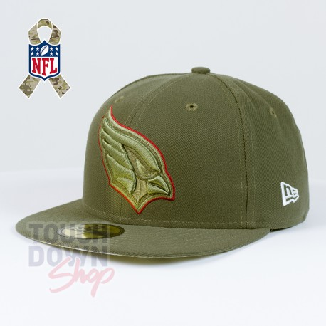 Casquette Arizona Cardinals NFL Salute To Service 59FIFTY Fitted New Era - Touchdown Shop