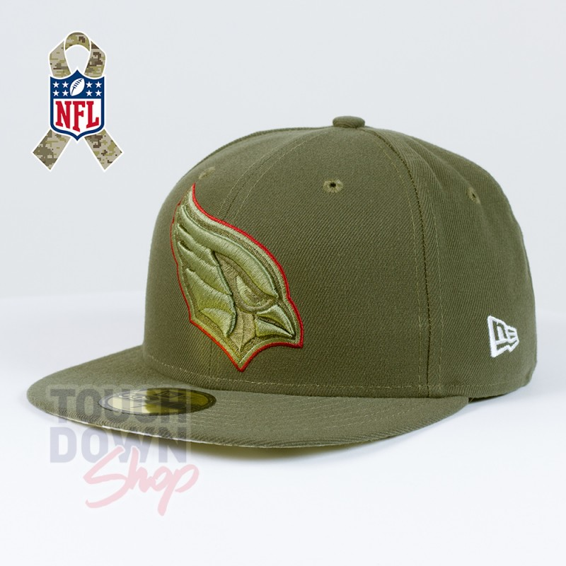 4e907f58aab Casquette Arizona Cardinals NFL Salute To Service 59FIFTY Fitted New Era -  Touchdown Shop