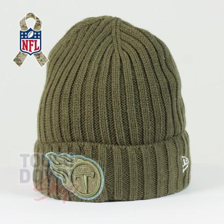 Bonnet Tennessee Titans NFL Salute To Service New Era - Touchdown Shop