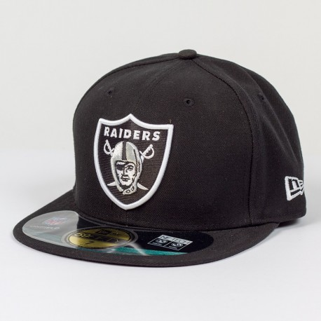 Casquette New Era 59FIFTY Fitted authentic on field NFL Oakland Raiders - Touchdown shop