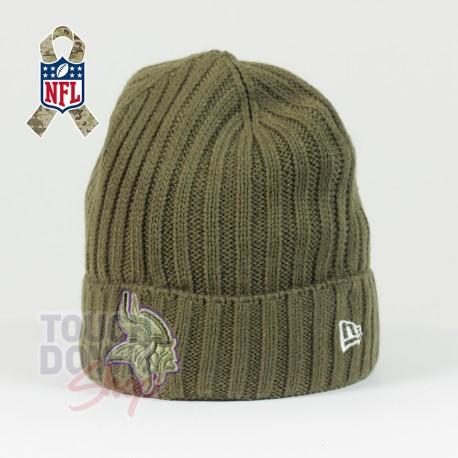 Bonnet Minnesota Vikings NFL Salute To Service New Era - Touchdown Shop