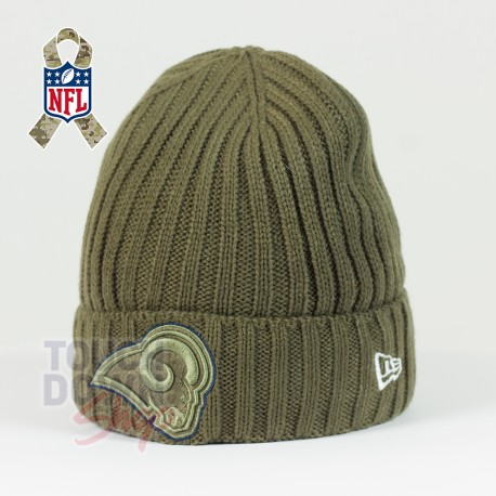 Bonnet Los Angeles Rams NFL Salute To Service New Era - Touchdown Shop