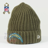 Bonnet Los Angeles Chargers NFL Salute To Service New Era - Touchdown Shop