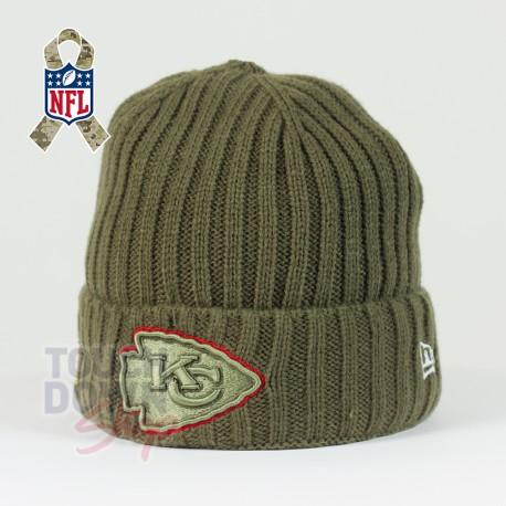 Bonnet Kansas City Chiefs NFL Salute To Service New Era - Touchdown Shop